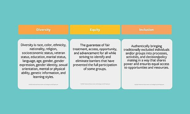 Diversity, Equity, and Inclusion Definitions