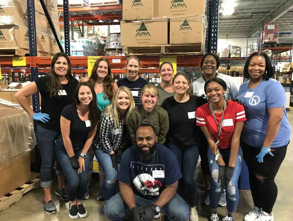 Employee Engagement through Community Service