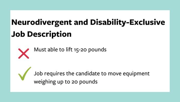disability-exclusive-job-description